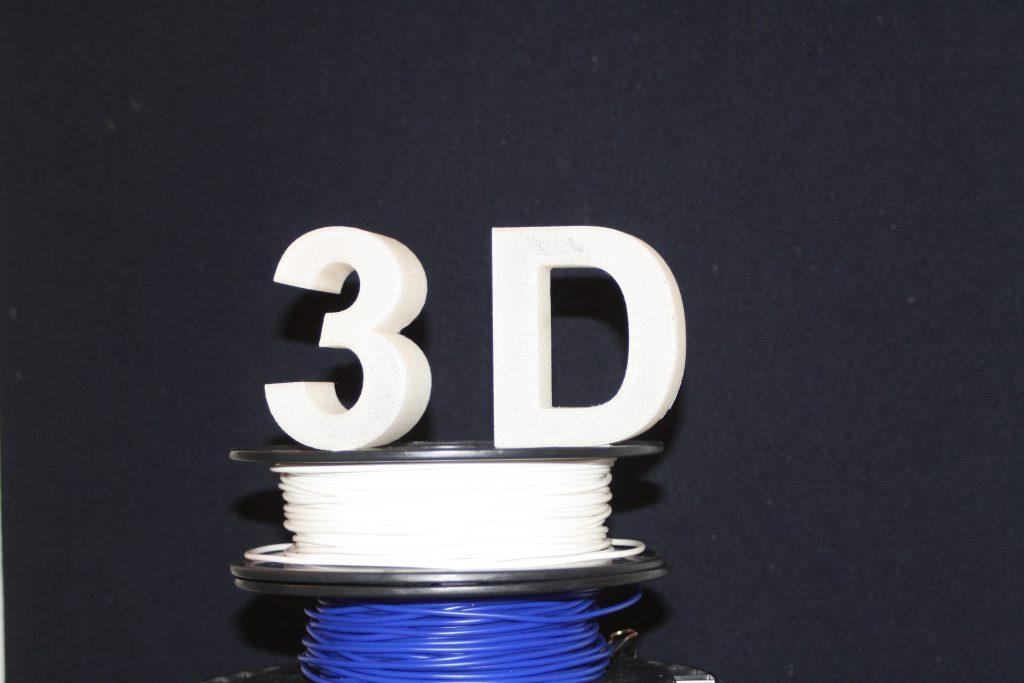 3D-Druck Beispiele, 3D-Logo