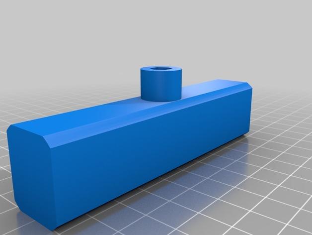 3D-Druck Beispiele, 3D-preview Handgriff Bohrfutter