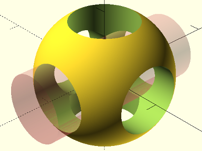 3D-Konstruktion: OpenSCAD Logo