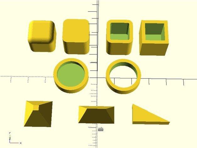 3D-Konstruktion: Beispiele OpenSCAD