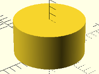 3D-Konstruktion: Zylinder