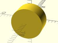 3D-Konstruktion: Zylinder gedreht