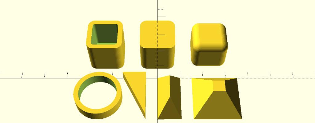 3D-Konstruktion: OpenSCAD